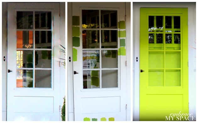 Embrace My Space:  Front Door Upgrade