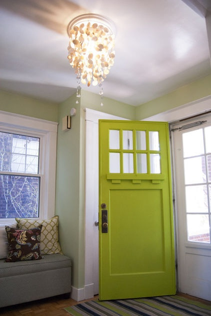 Embrace My Space:  Green Front Door