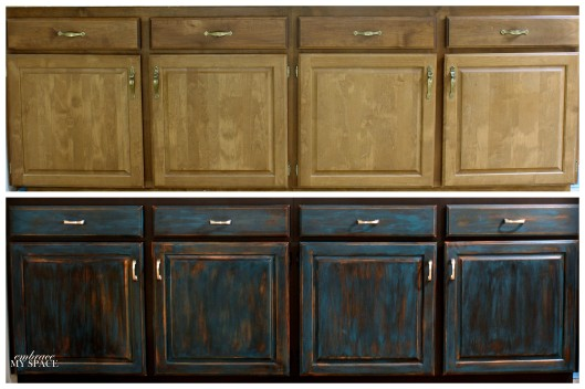 cabinet collage