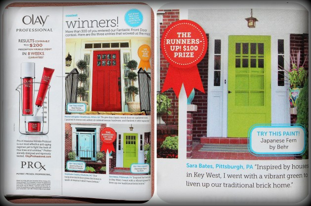 HGTV Magazine Collage
