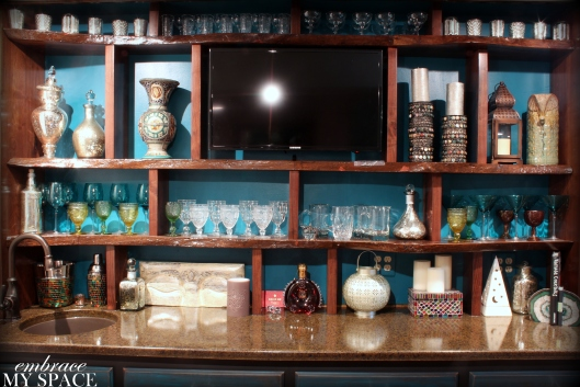 Embrace My Space: Bar Shelves