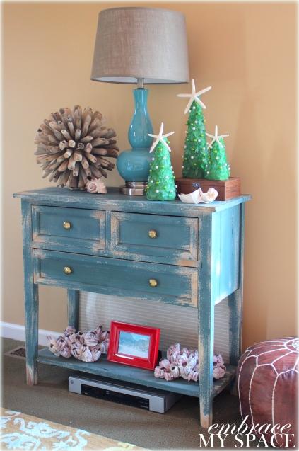 Embrace My Space:  Sea Glass Tree