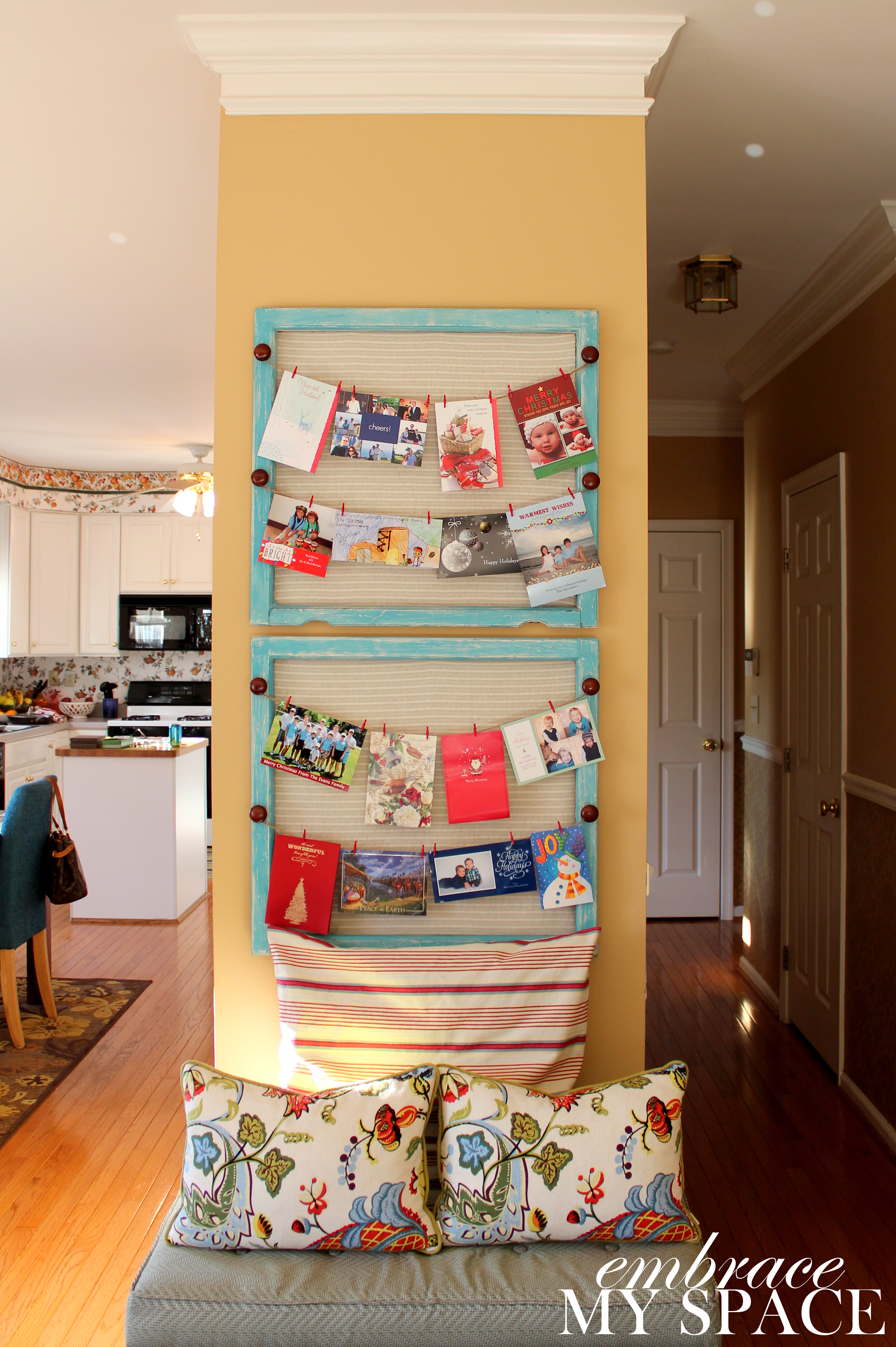 Why Buy When You Can DIY?: Christmas Card Holder