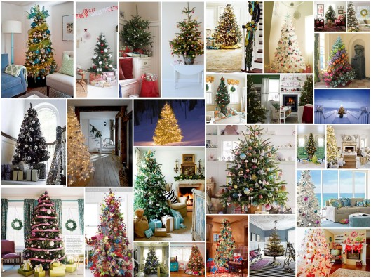 Embrace My Space:  25 Days of Christmas Trees