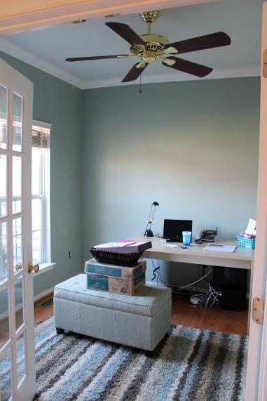 Embrace My Space:  Office Progress