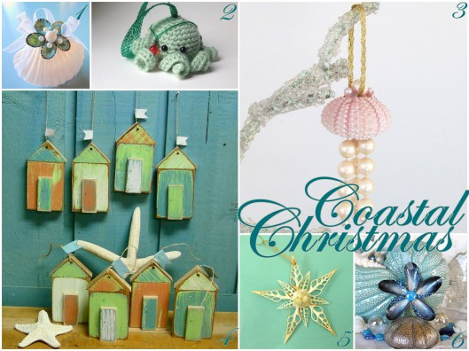 Embrace My Space: Coastal Christmas Ornaments