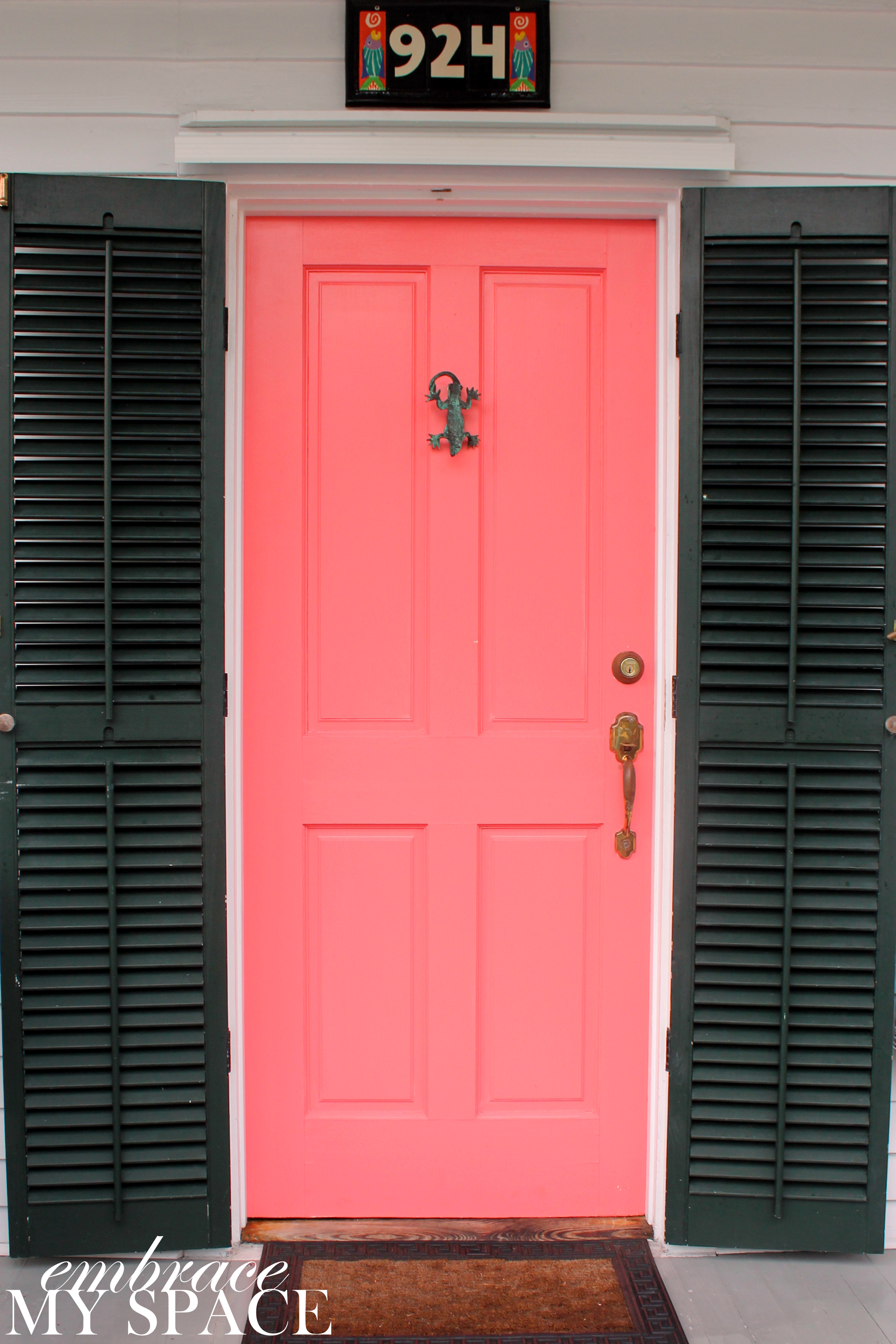 4038 #BB1014 OF COLOR: Finally My Favorite Style Doors Painted In All Colors  picture/photo Different Color Front Doors 47092692