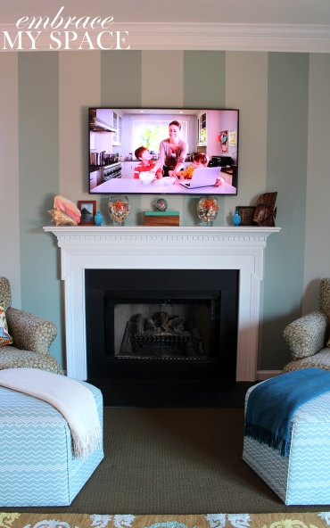 Embrace My Space:  Living Room