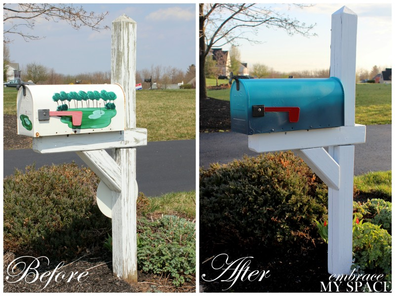 simple wooden mailbox diy