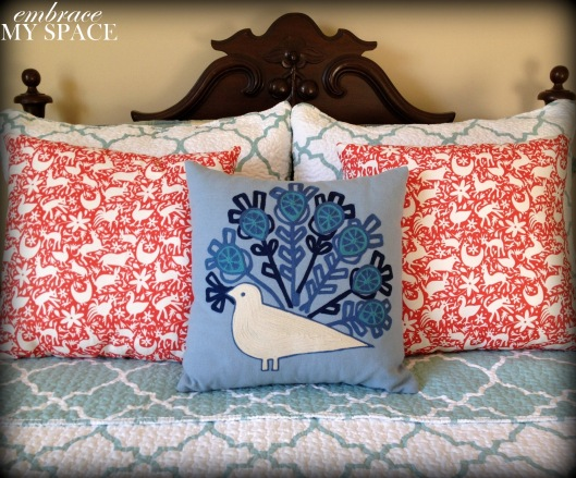 Embrace My Space: Otomi PIllows