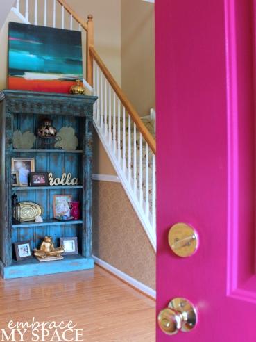 Embrace My Space: Pink Front Door