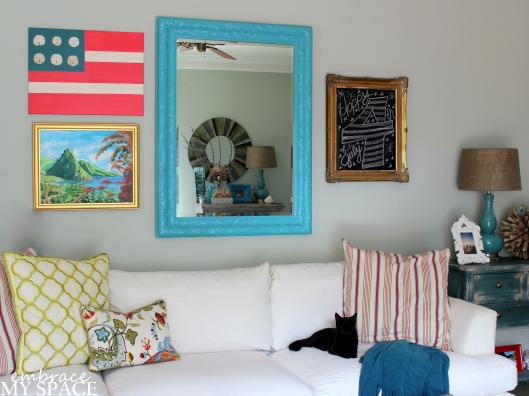 Embrace My Space: American Flag DIY