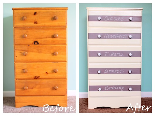 Embrace My Space: DIY Chalkboard Dresser