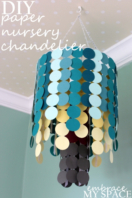 Embrace My Space: Nursery Chandelier