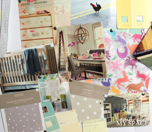 Nursery Pinboard Reveal