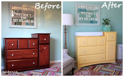Embrace My Space: Changing Table