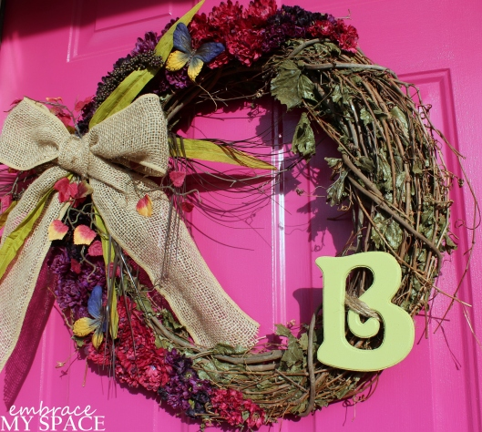 Embrace My Space: Fall Wreath