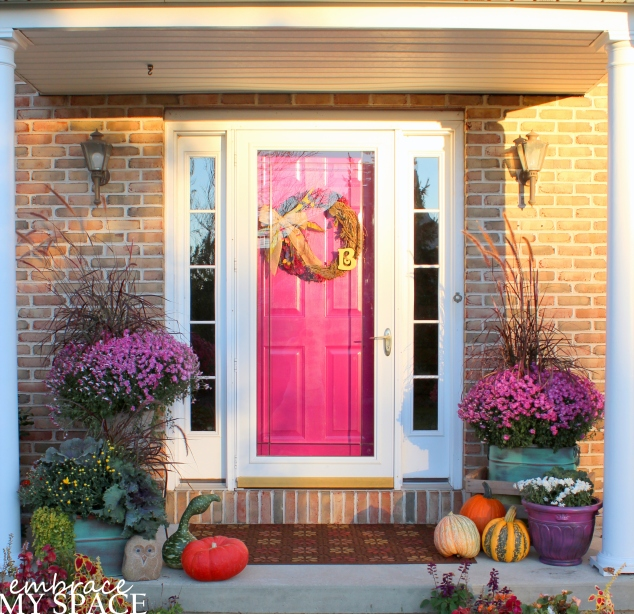 Embrace My Space: Fall Front Porch