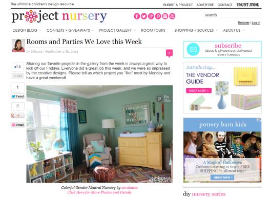 Embrace My Space: Project Nursery
