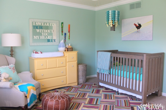 Embrace My Space: Nursery