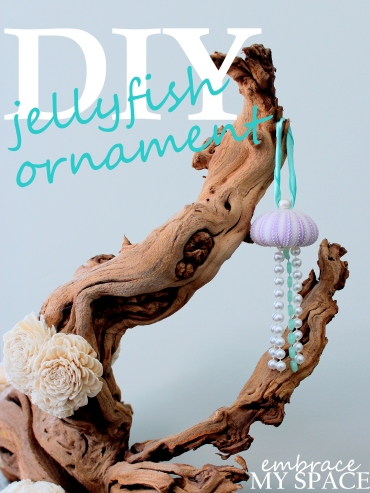 Embrace My Space: Jellyfish Christmas Ornament