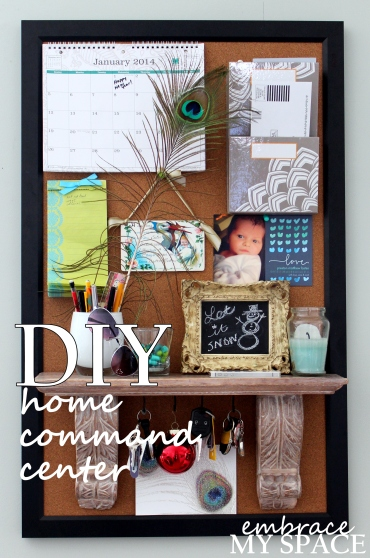 Embrace My Space: DIY Home Command Center