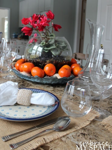 Embrace My Space: Tablescape