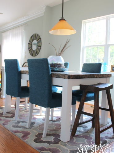 Embrace My Space: Kitchen Table Upgrade