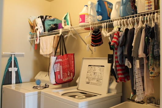 Embrace My Space: Laundry Room Before