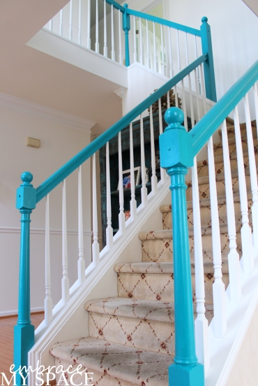 Embrace My Space: Blue Stairway