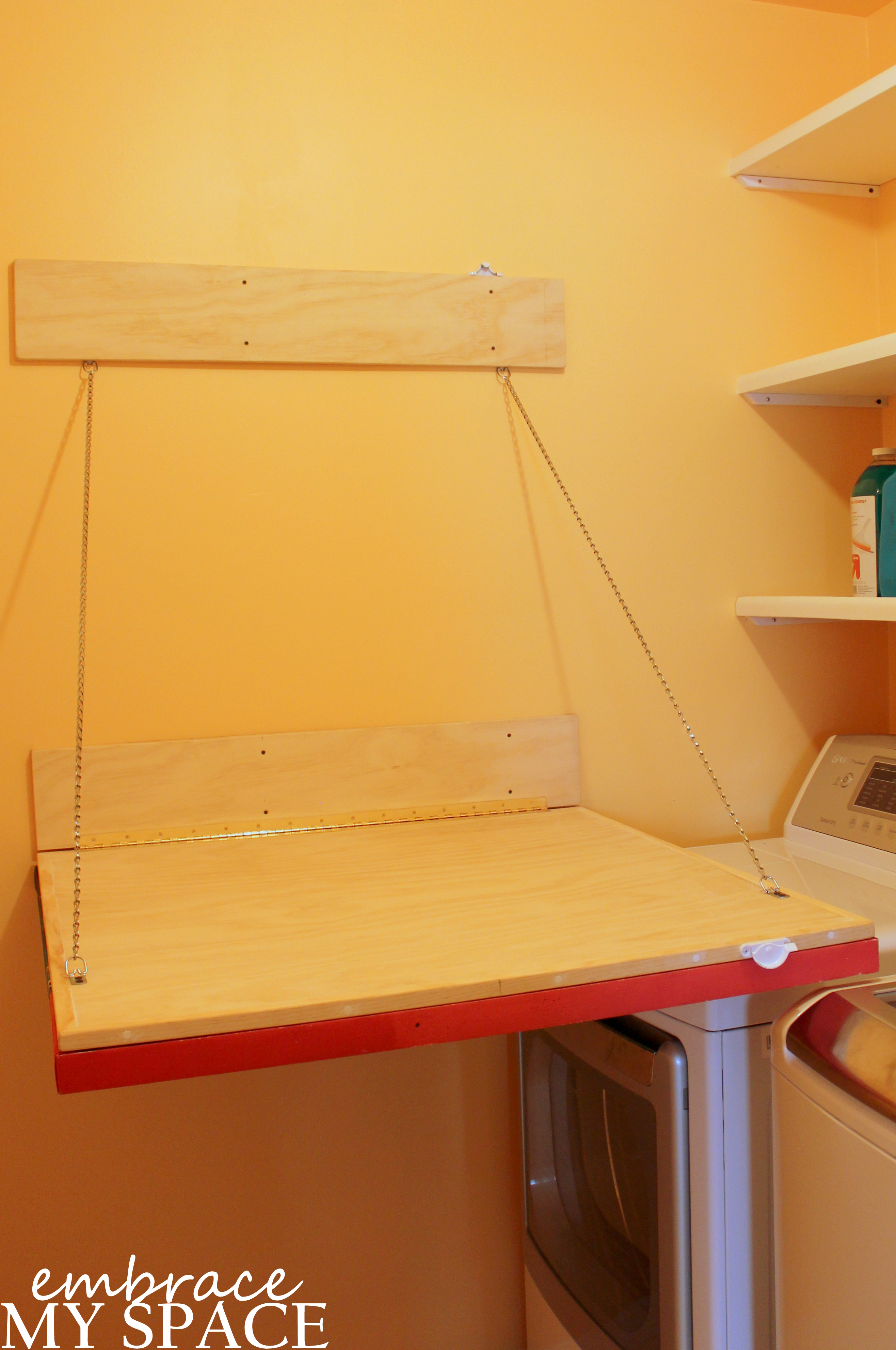 Art That Works Hinged Laundry Folding Table Embrace My Space