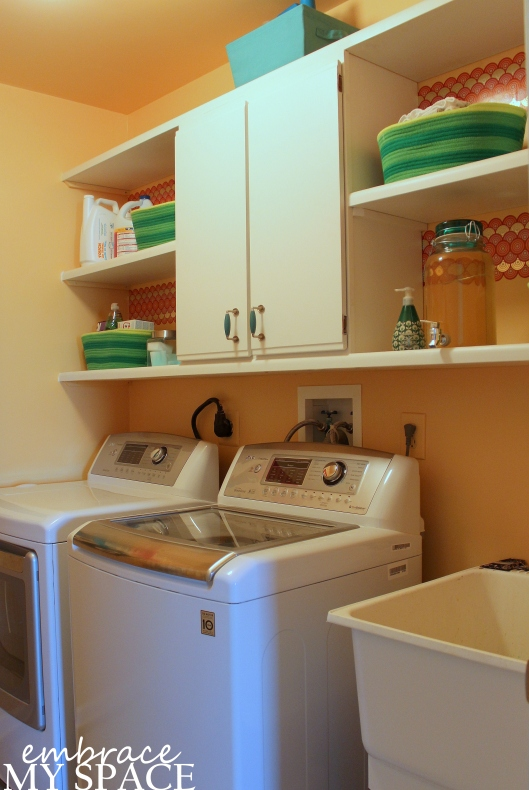 Embrace My Space: laundry room