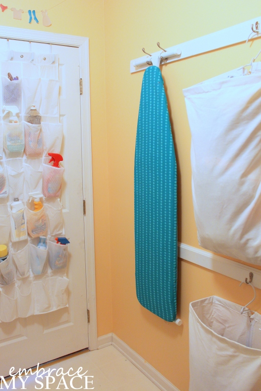 Embrace My Space: Laundry Room Storage